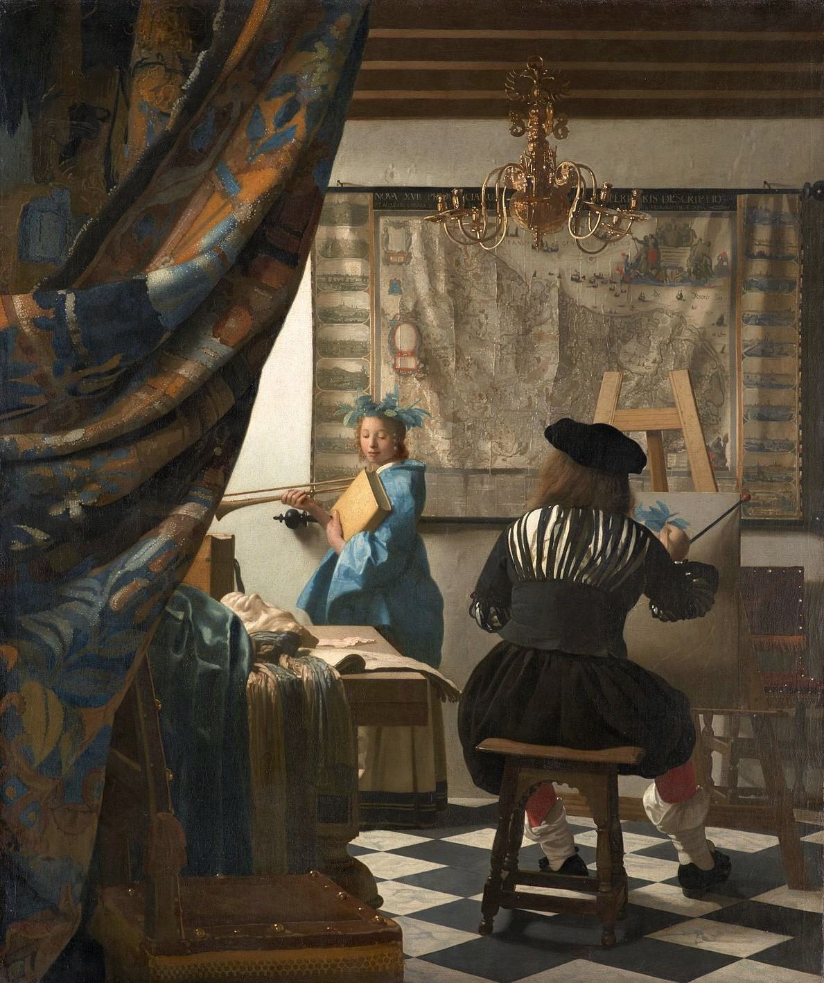 Allegorie op de schilderkunst - Johannes Vermeer