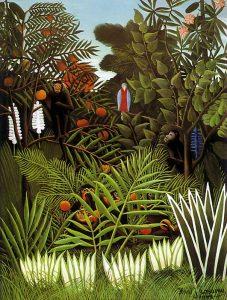 Exotisch landschap - Henri Rousseau