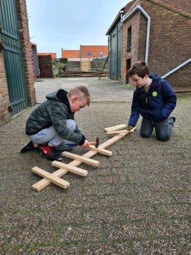 Lucas van Hoepen en John Dingemanse, groep 3, de Lichtstraal 2