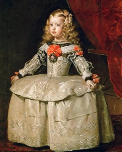 Diego Delazquez Infanta Margarita Teresa 1656 Olieverf op doek