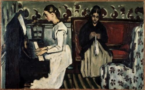 Paul Cézanne, De ouverture tot Tannhäuser 1869 Olieverf op doek