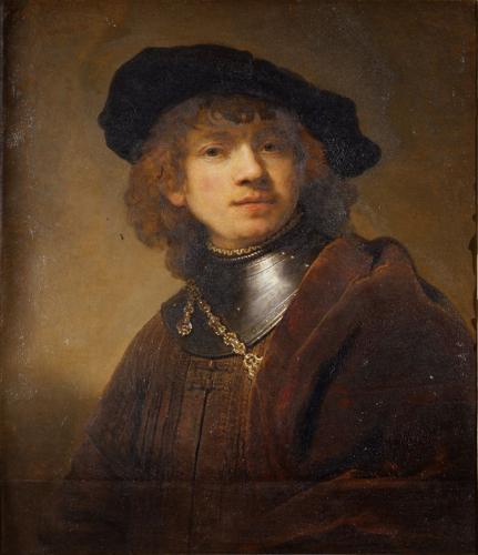 Rembrandt van Rijn - Zelfportret 1634 Olieverf op doek