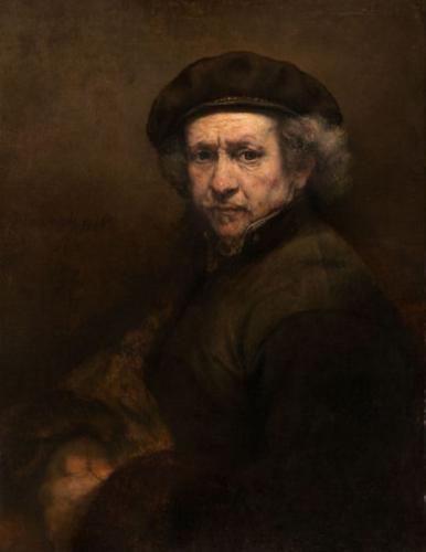 Rembrandt van Rijn - Zelfportret 1659 Olieverf op doek
