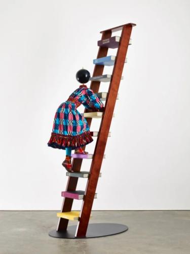 Yinka Shonibare Magic Ladder, 2014 Installatie