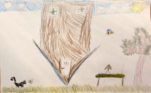 Eva Koole, 7 jaar
