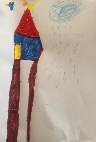 Lizzy Filius, 6 jaar, groep 2 de Kamperschouw