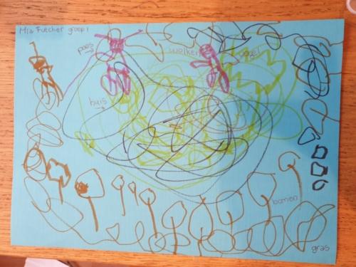 Mia en Evie Futcher (4 jaar), groep 1 de Magdalon